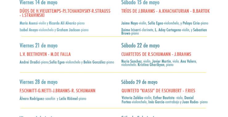 El Real Sitio de San Ildefonso arranca su programación de primavera-verano con el #KLASSICFEST