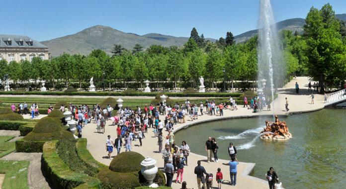 Las Fuentes Monumentales de La Granja vuelven a encenderse a partir del domingo